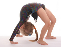 Child Wheel Pose