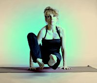 Astavakrasana Preparation Pose