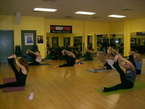 Yoga Class Picture